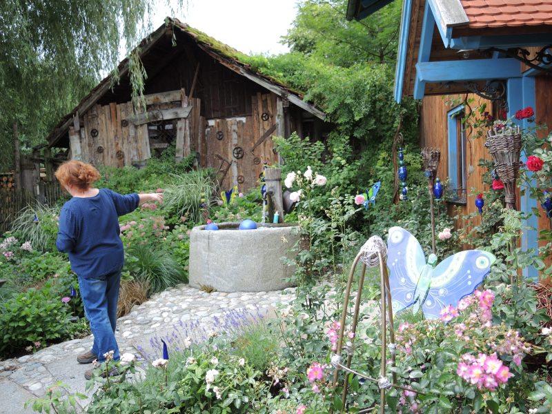 40_Im Bauerngarten von Frau Preisinger