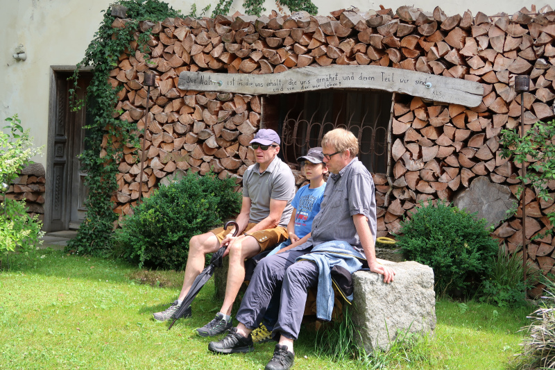 56_Im Bauerngarten von Frau Preisinger